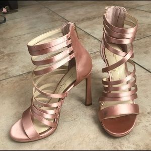 Jessica Simpson Ankle strap sandals. Never worn
